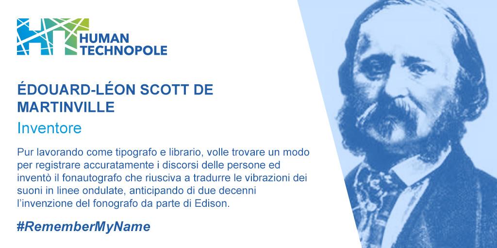 Édouard Léon Scott De Martinville