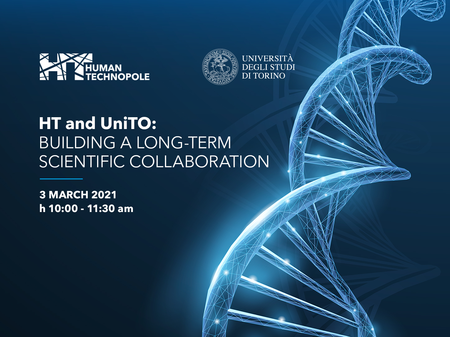 HT AND UniTO: BUILDING LONG-TERM SCIENTIFIC COLLABORATION