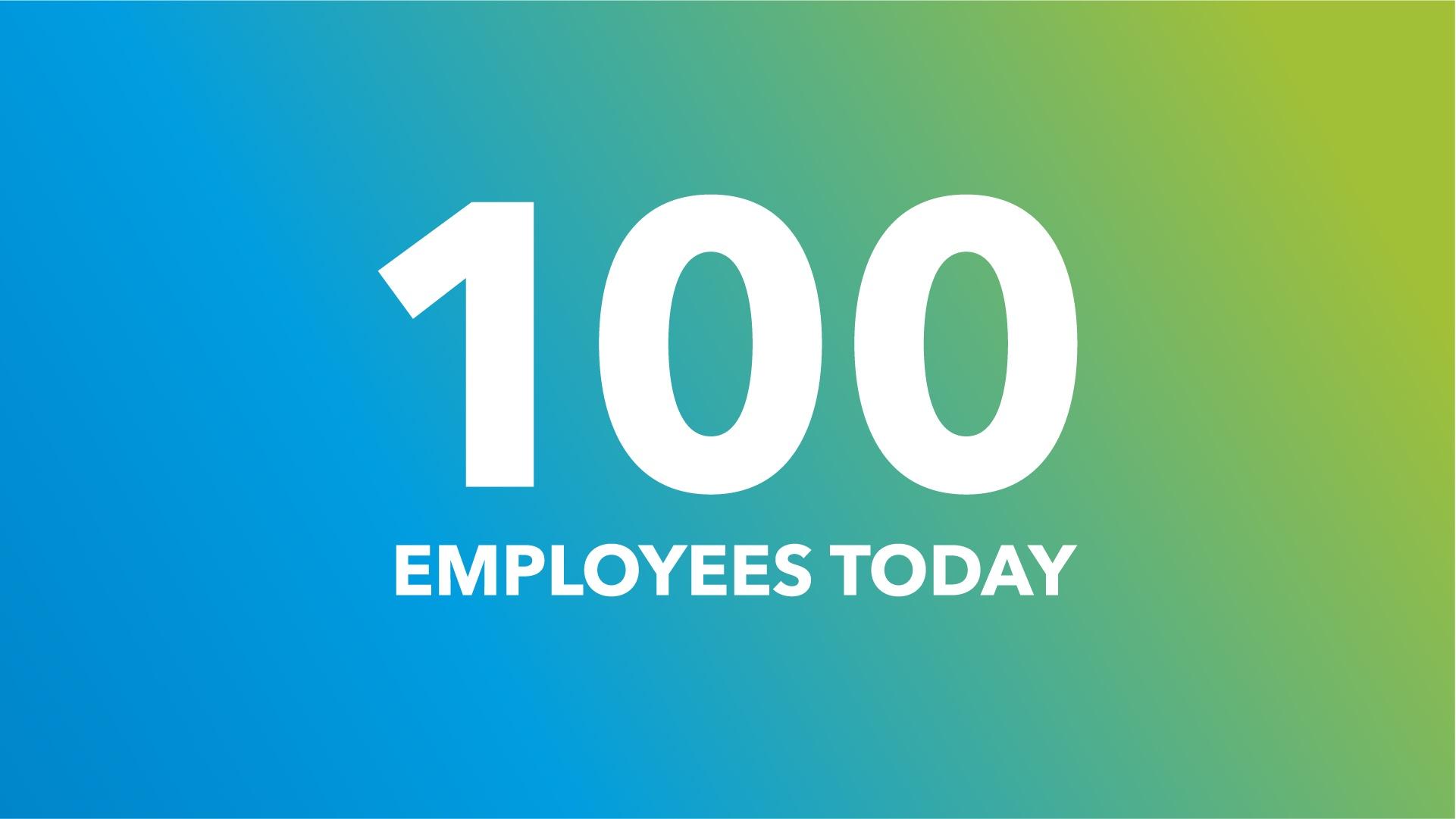 I primi 100 dipendenti