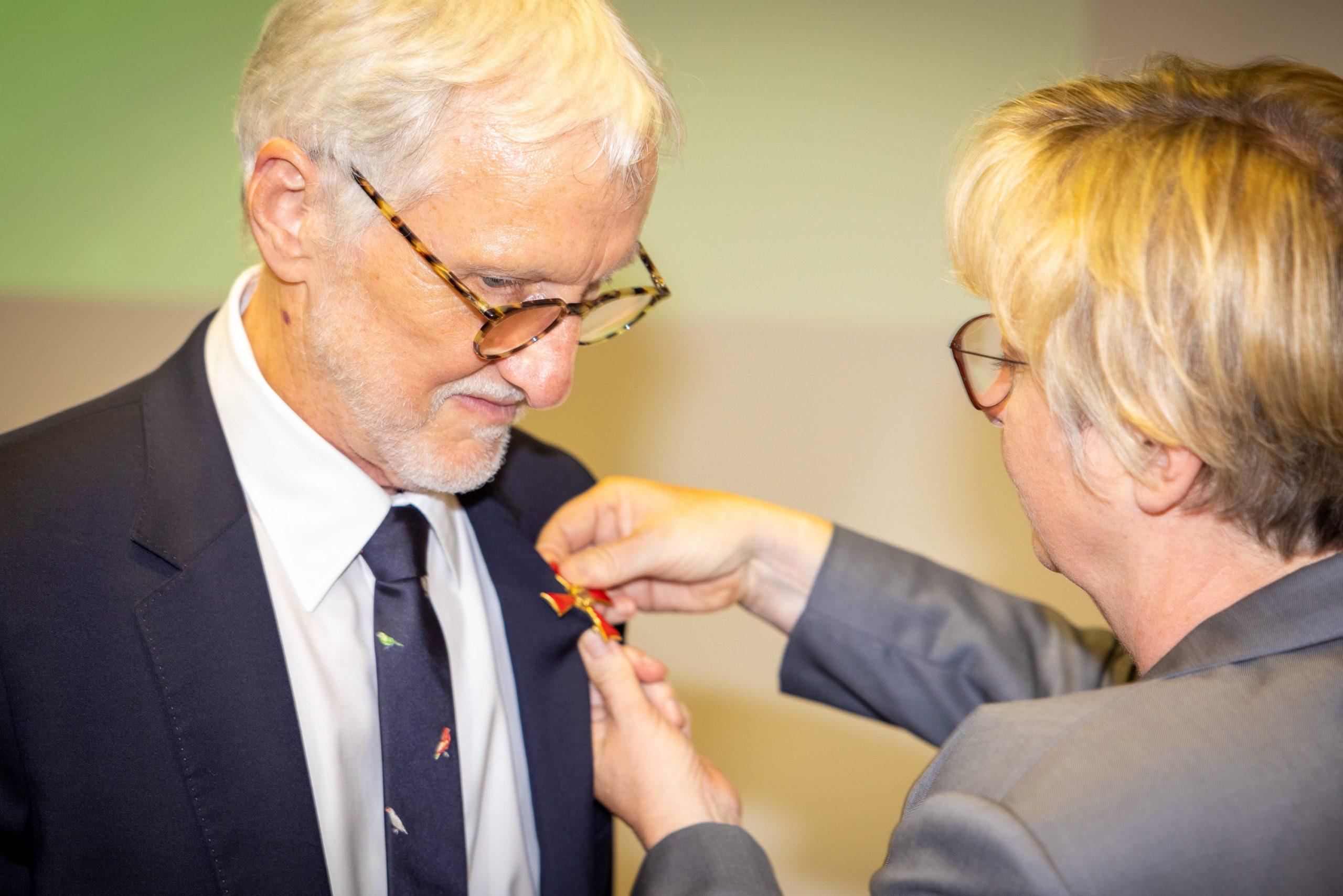 Iain Mattaj honoured with German Cross of Merit